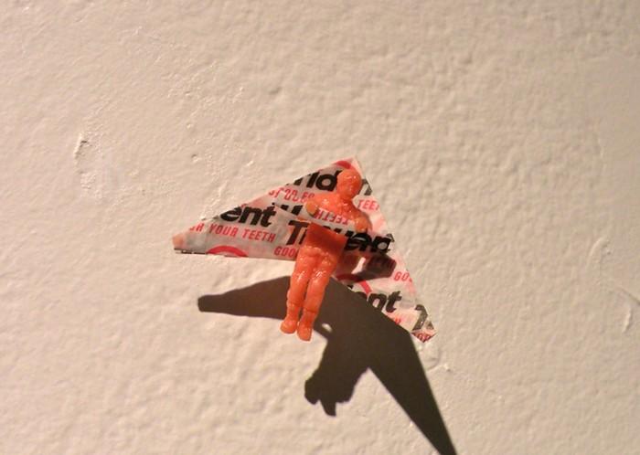 Gum Portrait. Съедобные произведения искусства от Казуки Гузмана (Kazuki Guzman)