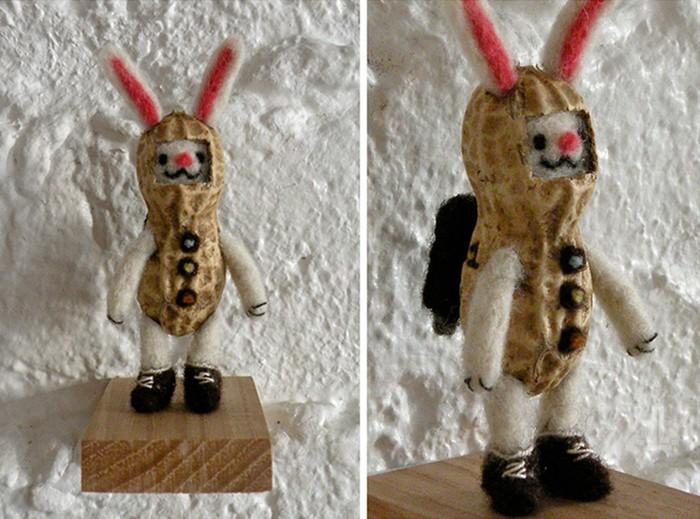 Peanut Bunny. Съедобные произведения искусства от Казуки Гузмана (Kazuki Guzman)