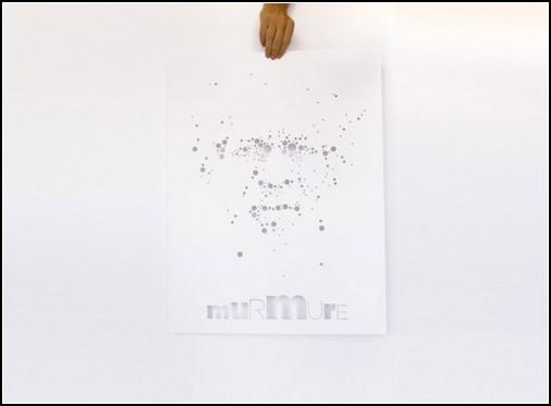 Картины, сделанные дырками. Трафаретная живопись наизнанку