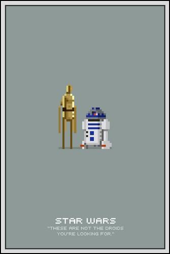 Пиксельные постеры от Майкла Майерса (Michael Myers)