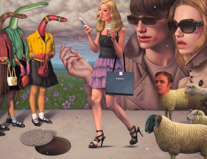Egoist, Product Placement, Alex Gross