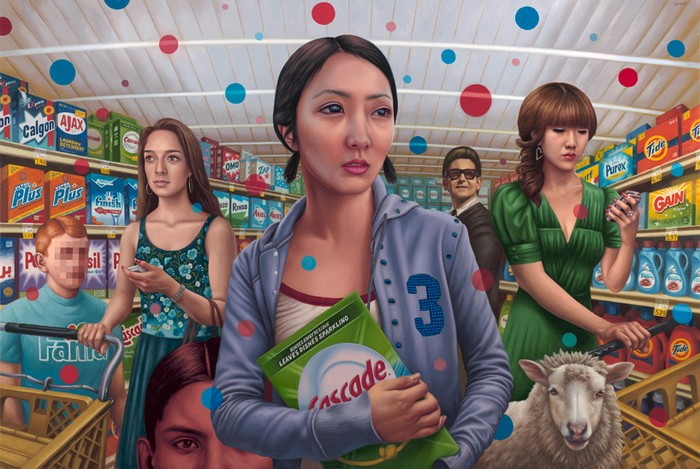 Cascade, Product Placement, Alex Gross