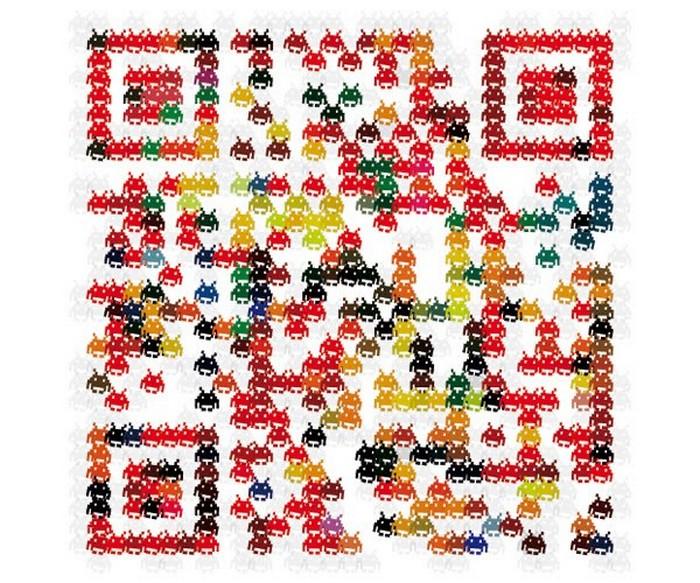 Необычные и креативные QR-коды