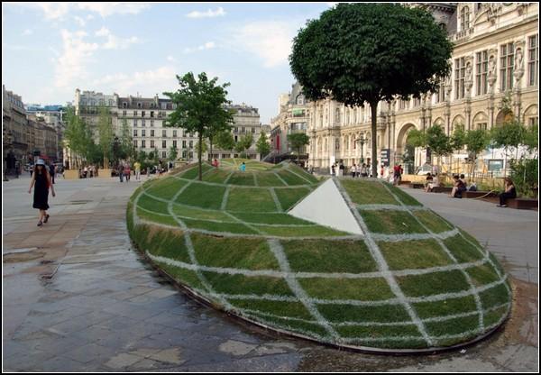 Инсталляция-иллюзия «Кому верить?» от Франсуа Абелане (Francois Abelanet)
