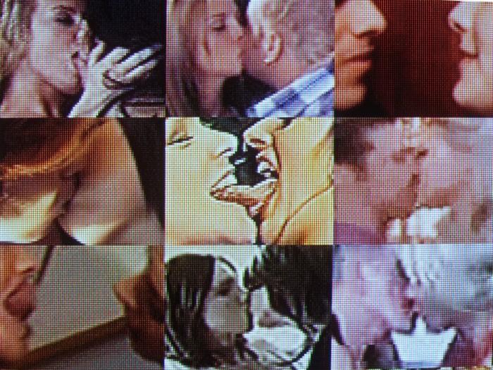 Видеоинсталляция Make Out от Рафаэля Лозано-Хеммера (Rafael Lozano-Hemmer)