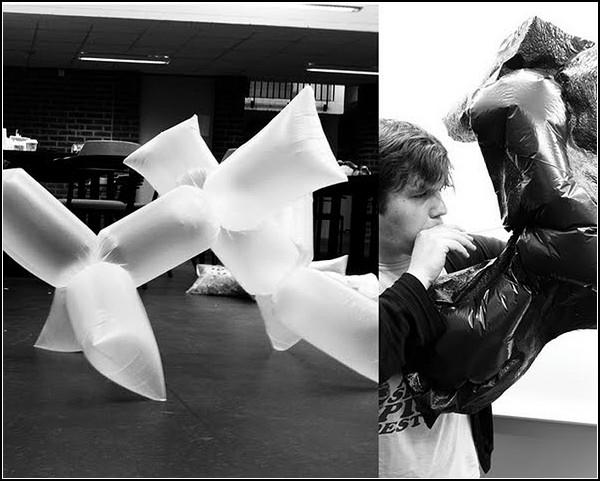 Инсталляции из пластиковых пакетов от Роберта Янсона (Robert Janson)
