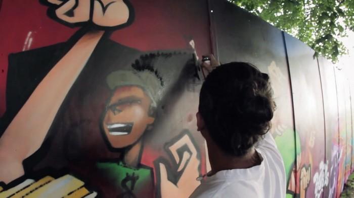 Graffiti Project – праздник граффити на рок-фестивале в Роскилле