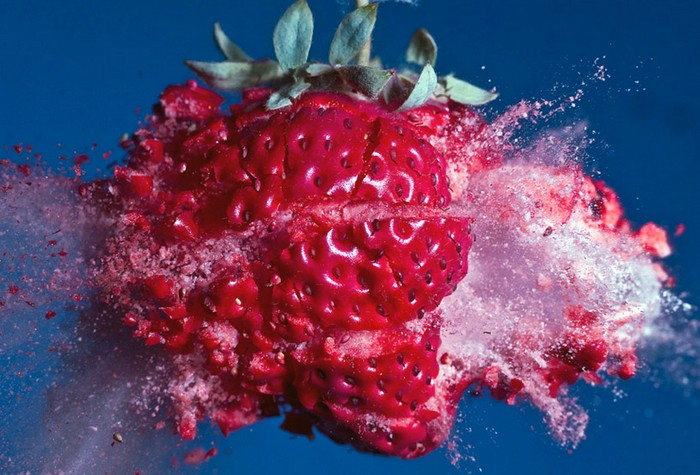 Voyage to the planet of frozen strawberries, Exploding food, Alan Sailer