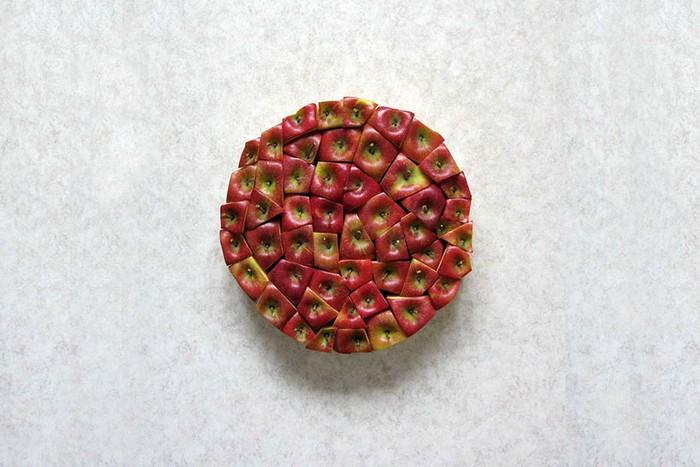 Geometric Food Art — фруктово-ягодная геометрия от Шакира Гёкчебага (Sakir Gokcebag)