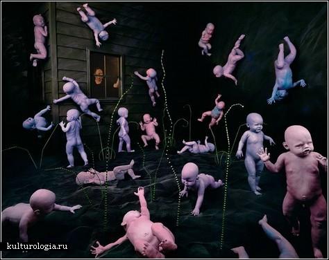 Сюрреализм: талант или безумие в работах Sandy Skoglund