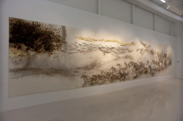 99 horses, Cai Guo-qiang, Выставка Saraab, Арабский Музей современного искусства в Катаре