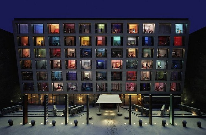 В субботу вечером. Отельный фотопроект от Сук Кима (Sook Kim)