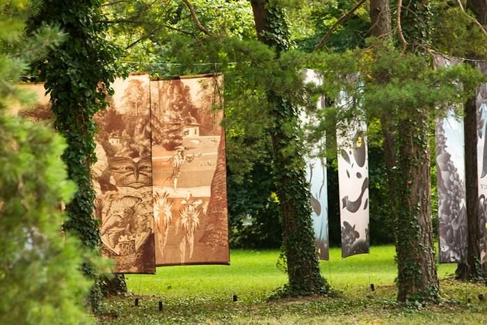 Театральные декорации в венгерском королевском парке