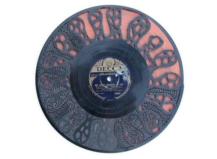 Выжигание по виниловым пластинкам от Скотта Марра (Scott Marr)