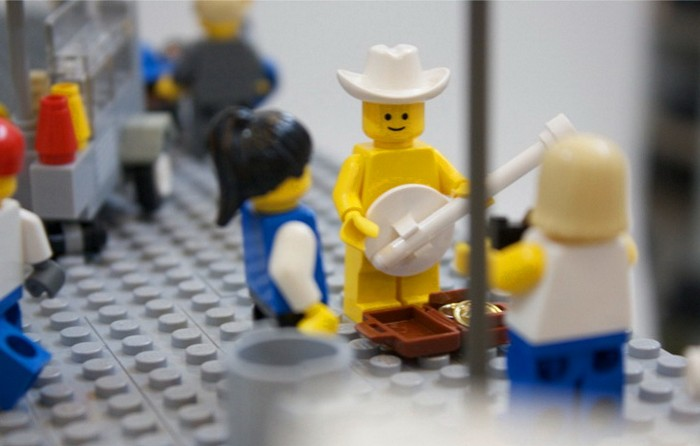 Нью-Йорк из LEGO от Шона Кенни (Sean Kenney)