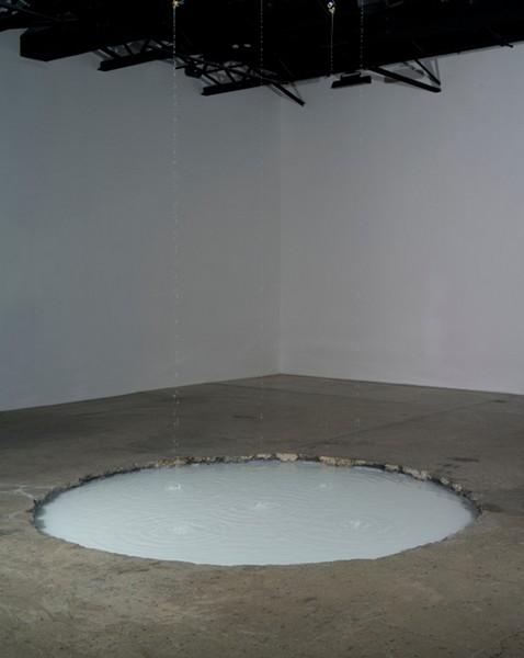 Sonic Fountain – звуковой фонтан от Дуга Айткена (Doug Aitken)