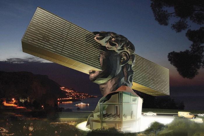 Арг-галерея Sosno с дизайном от Sosno