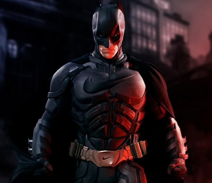 Бэтмен под маркой Nike. Проект Sponsored Superheroes от Роберто Вергати Сантоса (Roberto Vergati Santos)