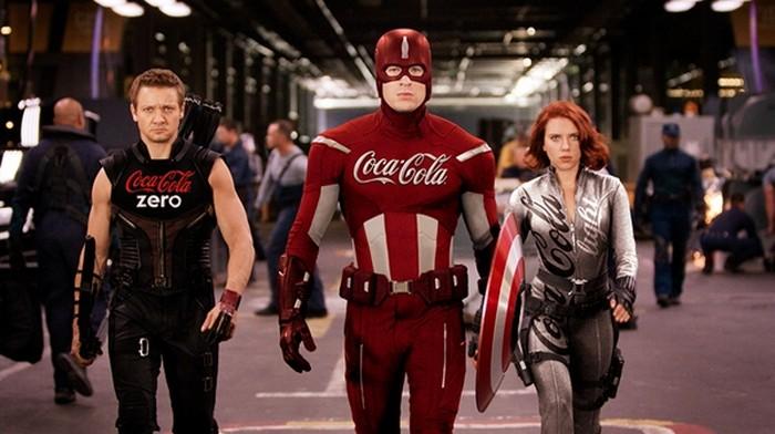 Супергерои от Coca-Cola. Проект Sponsored Superheroes от Роберто Вергати Сантоса (Roberto Vergati Santos)
