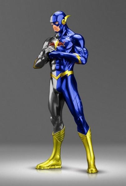 Флэш под маркой Red Bull. Проект Sponsored Superheroes от Роберто Вергати Сантоса (Roberto Vergati Santos)