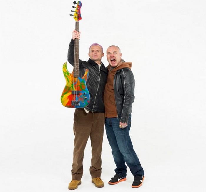 Damien Hirst и Flea