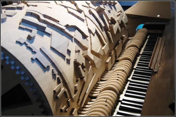 Застывшая музыка Эйндховена в проекте от «Stadsmuziek» от Акко Голенбельда (Akko Golenbeld)