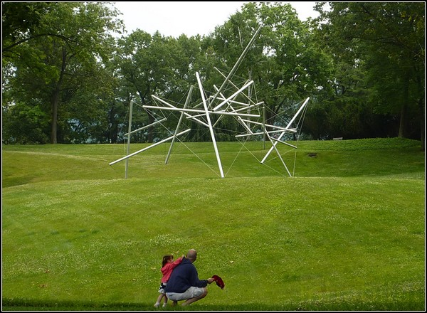 Free Ride Home, 1974, Kenneth Snelson