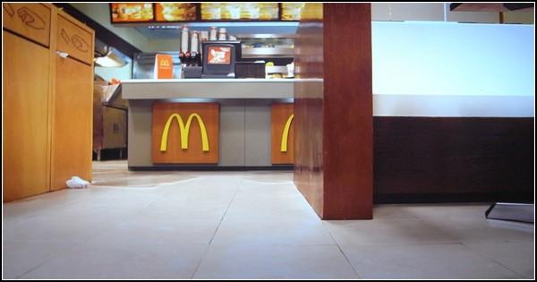 Затопленный McDonald's от датского трио Superflex