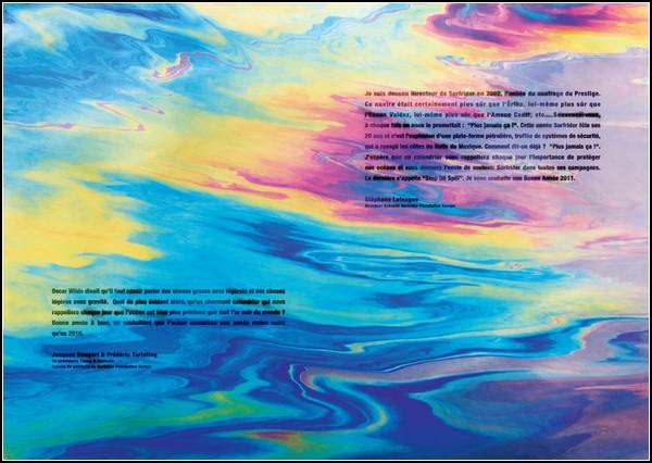 Нефтяной эротический календарь Surfrider Foundation-2011