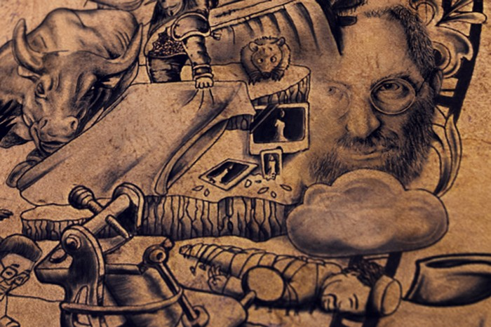 The tattooed poster – плакат в стиле тату от Chaos Crew