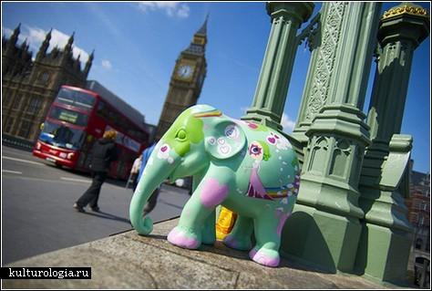 Слоновья оккупация Лондона