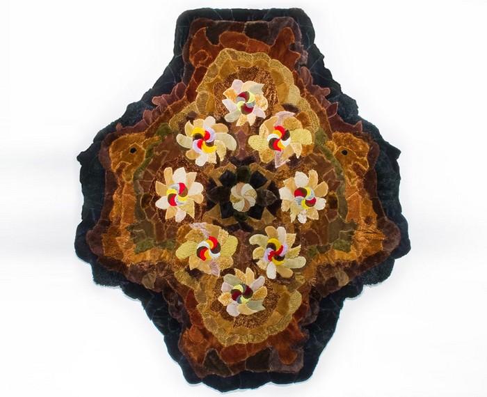 Гобелены и ковры из плюшевых мишек от Августины Вудгейт (Agustina Woodgate)