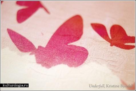 Скатерть с бабочками – залог хорошего настроения