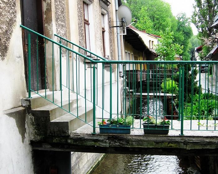 Цешинская Венеция - район на воде в польской части города