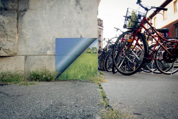 Слои реальности от словенского художника Михи Артнака (Miha Artnak)