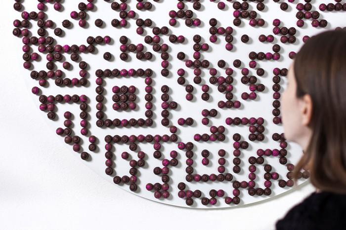 The Gift – шоколадный QR-подарок к London Design Festival