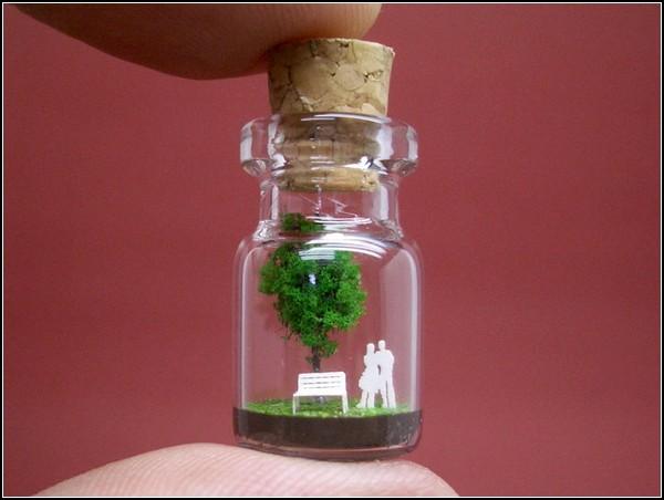 Миниатюра Tiny green tree and a family, Akinobu Izumi