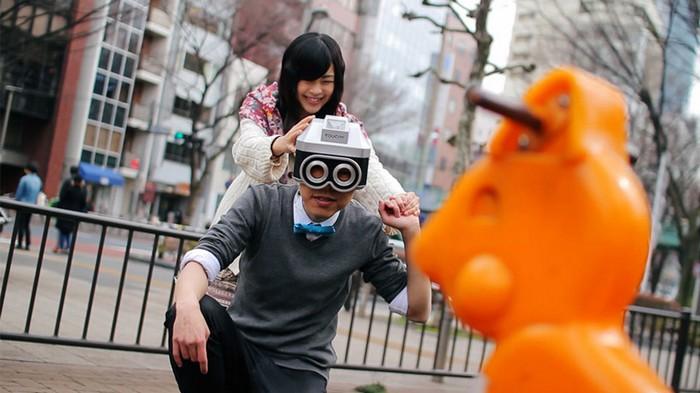 Touchy – фотокамера, которая учит общаться вживую