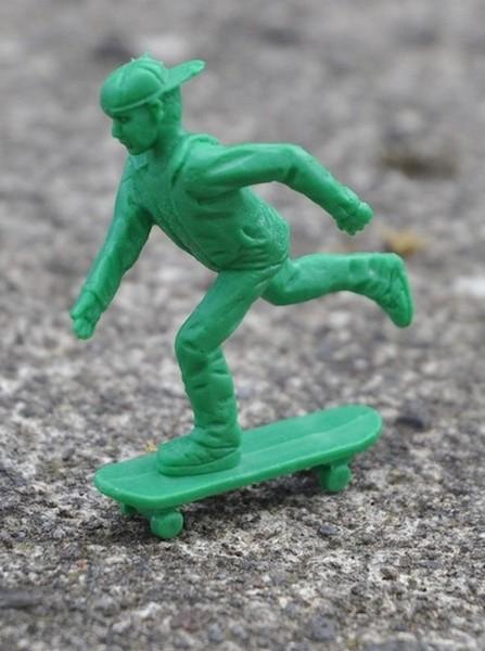 Toy Boarders – пластиковые солдатики, которые занимаются скейтбордингом