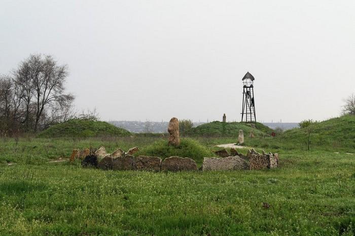 Музей Скифский Стан на острове Хортица в Запорожье