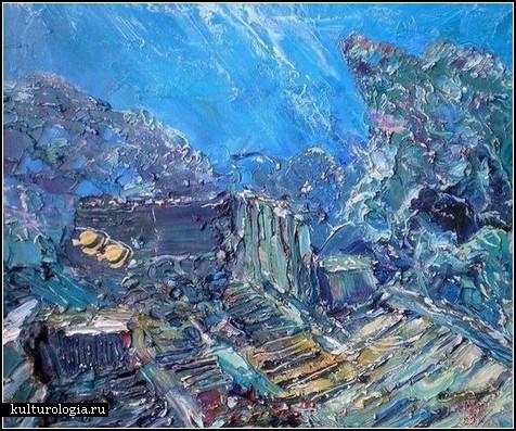 Подводная живопись от киевлянина Александра Белозора