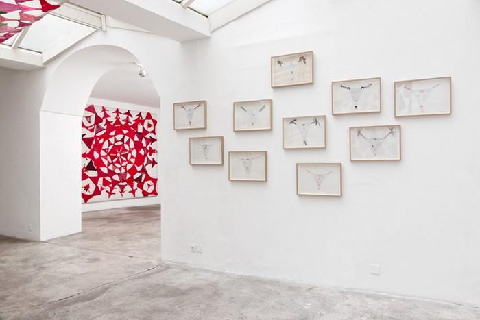 Мандала из трусов: инсталляции из нижнего белья от Пилар Альбаррасин (Pilar Albarracin)