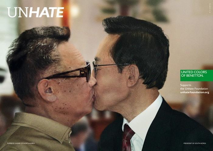Литеры Северной и Южной Кореи, Unhate, United Colors of Benetton
