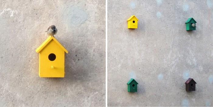Urban Nests – новые дома для исчезнувших воробьев