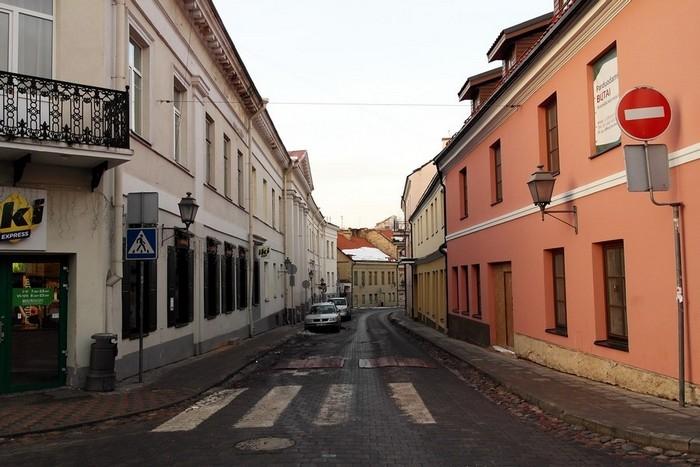 Центральная улица Ужуписа