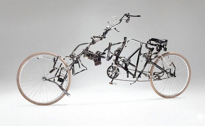 Новая жизнь старых велосипедов. Постиндустриальные работы Виктора Сонны (Victor Sonna)