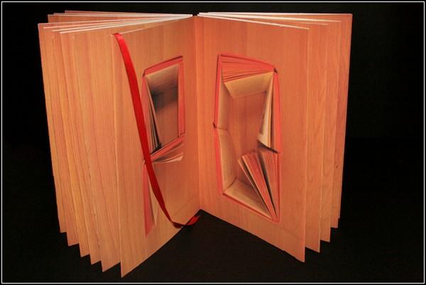 Алфавит, сделанный из книг. Проект Сони Ламеры (Sonia Lamera)