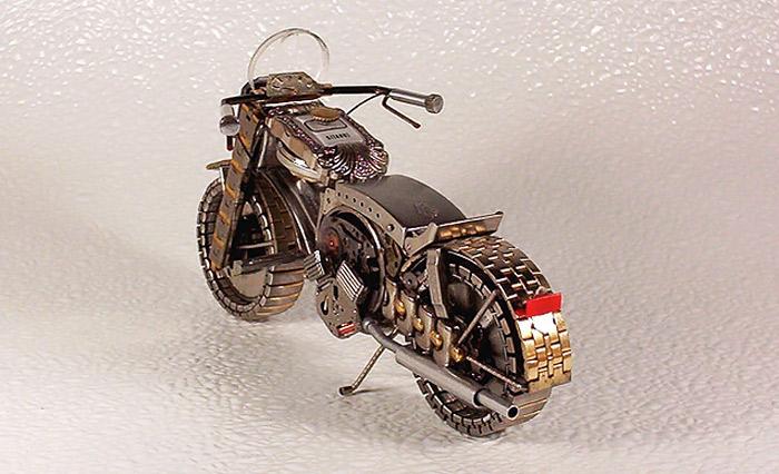 Miniature Watch Motorcycles от Дмитрия Христенко (Dmitry Khristenko)