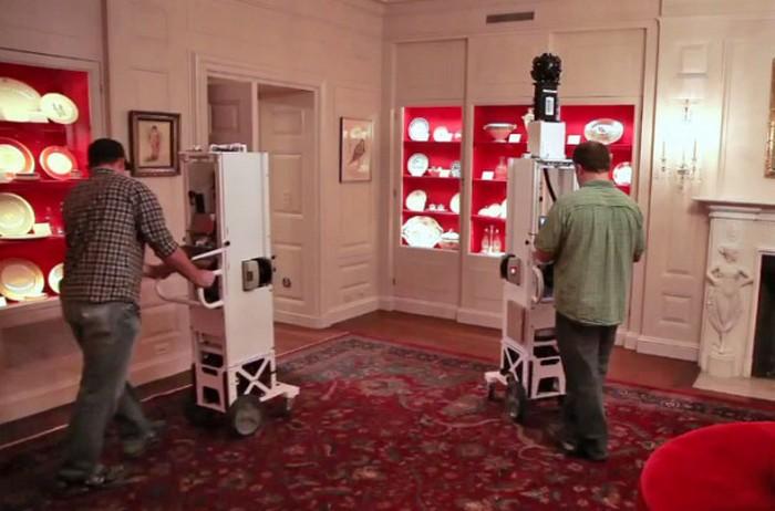 Google Street View добрался и до Белого Дома