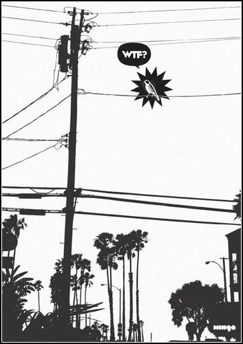 «Что за хрень?» (WTF) - серия минималистских плакатов